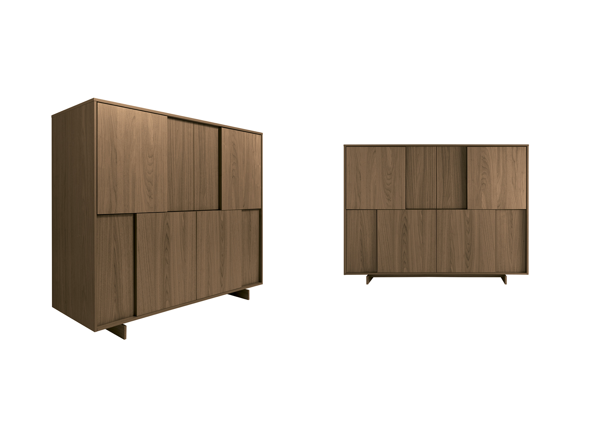 Frame quadra cabinets fanuli furniture for Sideboard quadra