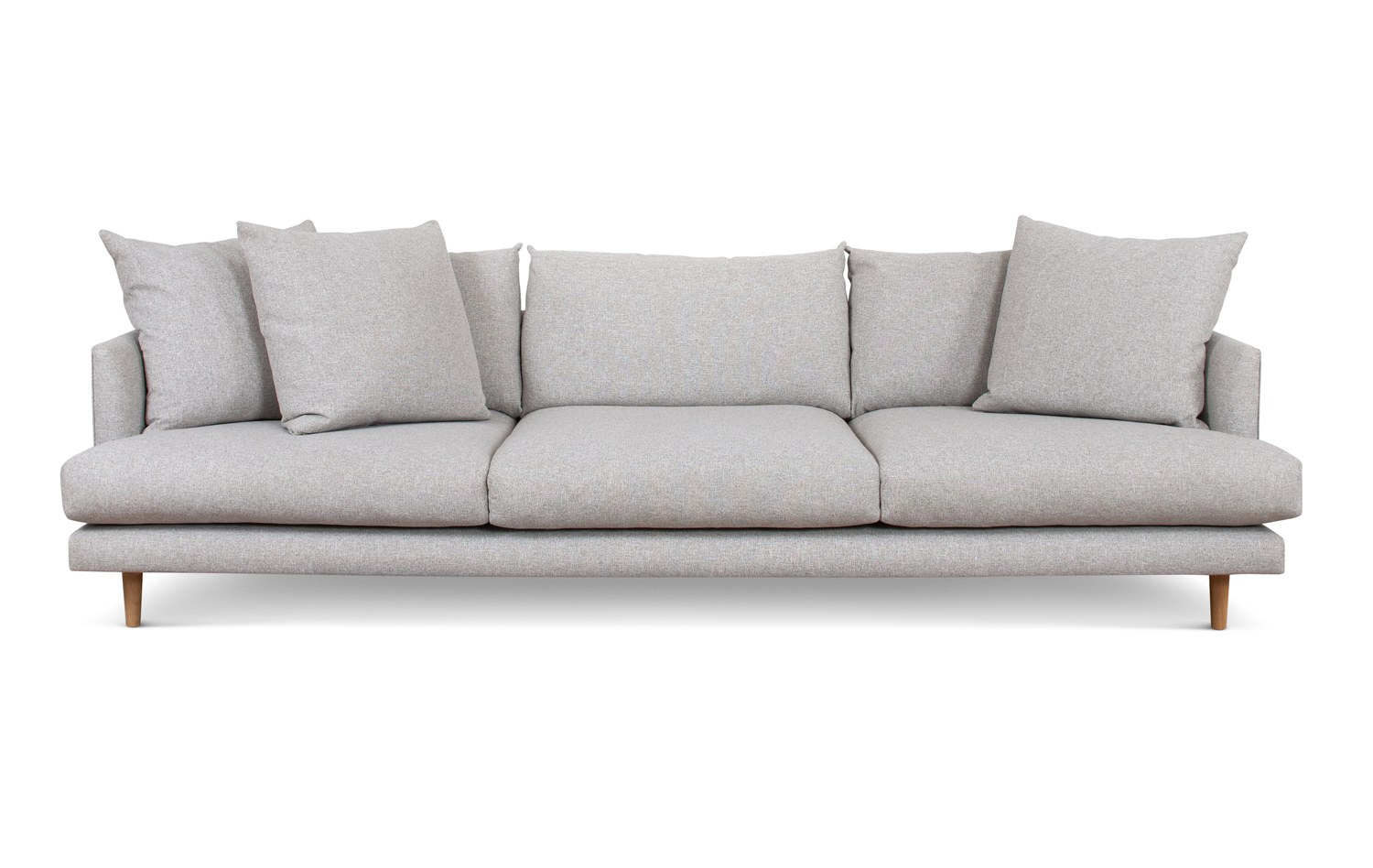 Frankie deep sofas fanuli furniture for Contemporary couches
