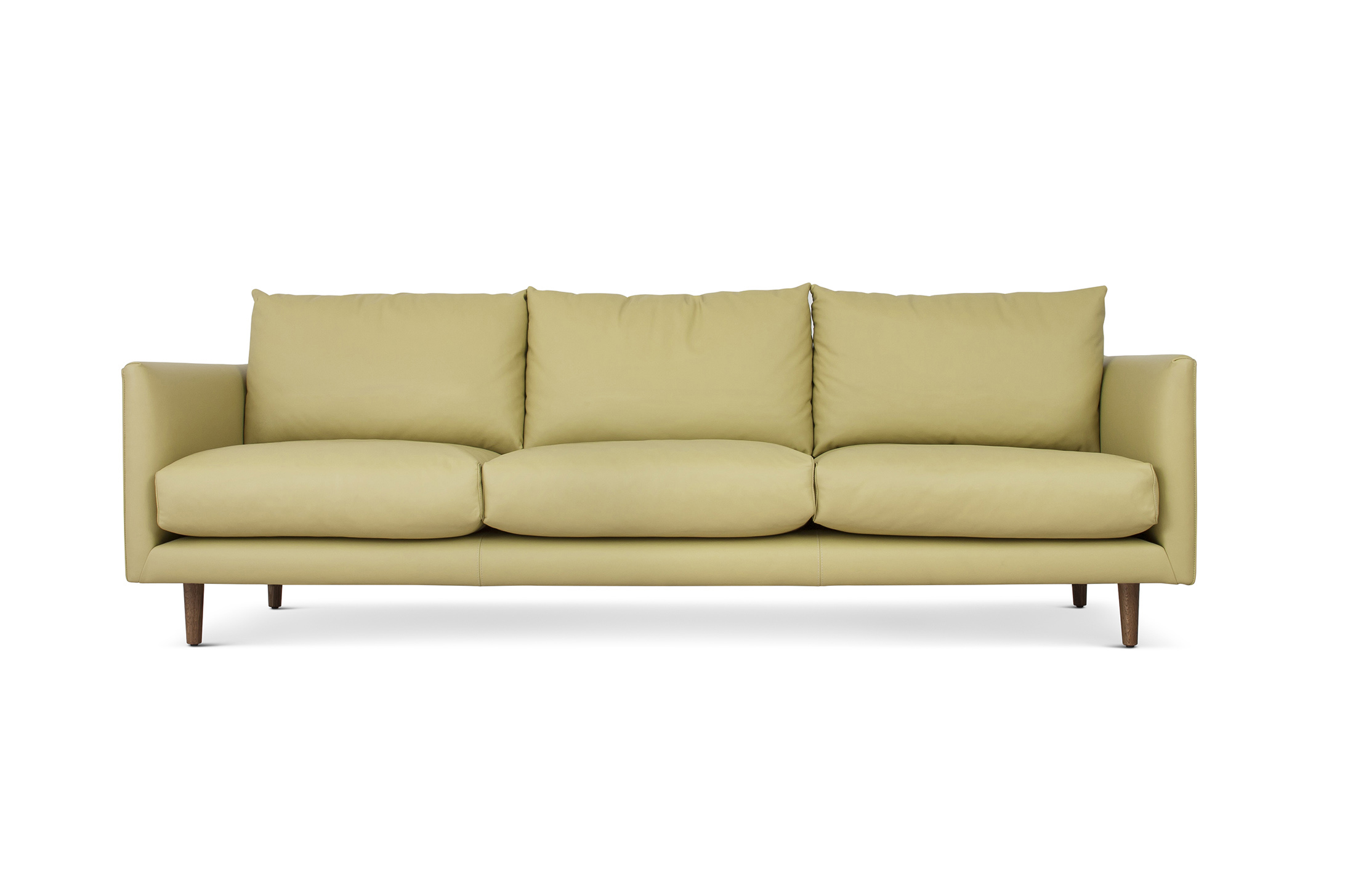 Shallow Loveseat Stay Sofa Shallow Depth Space For Gubi