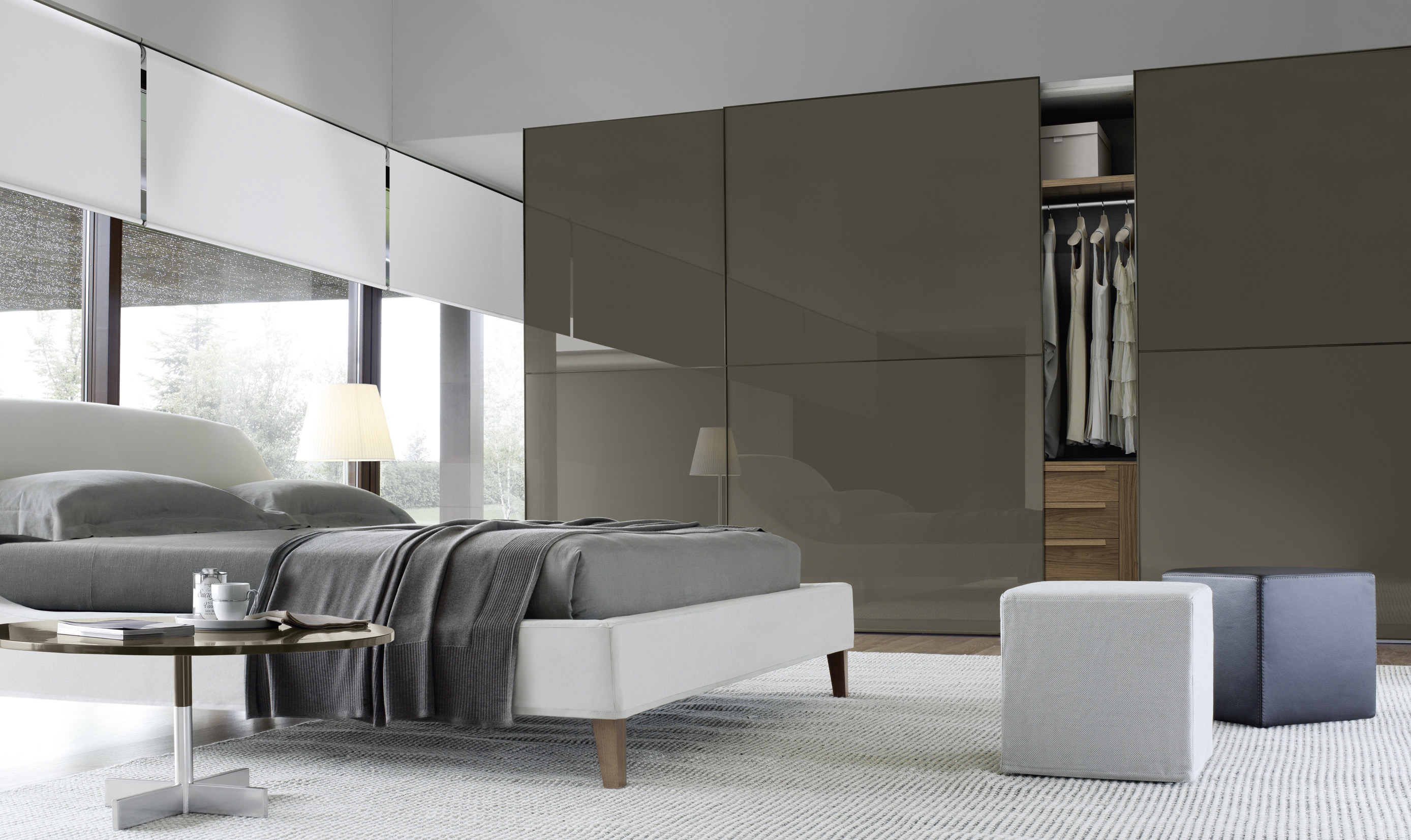 Square Sliding Doors Wardrobes Fanuli Furniture