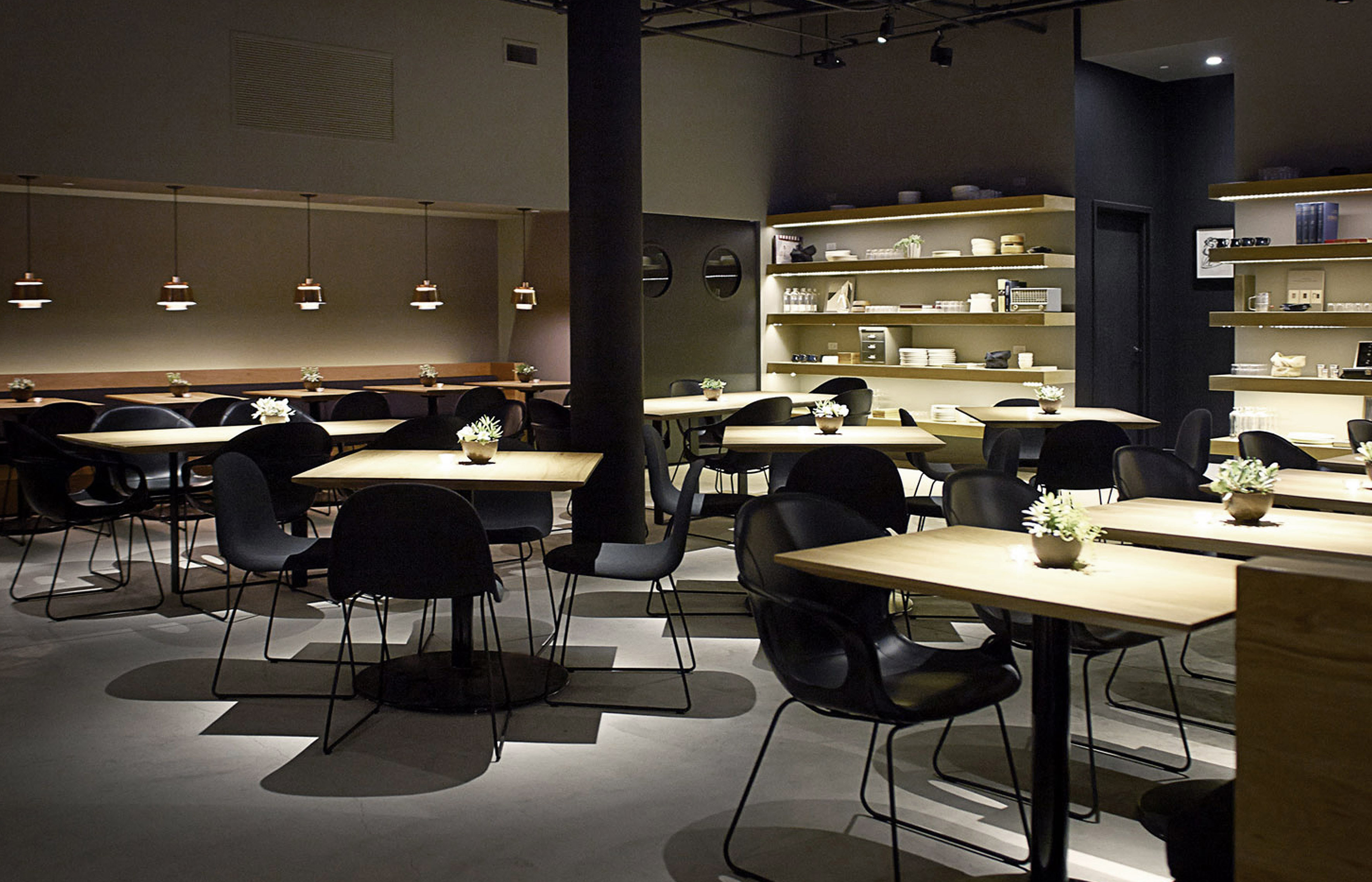 Cosme restaurant new york fanuli furniture