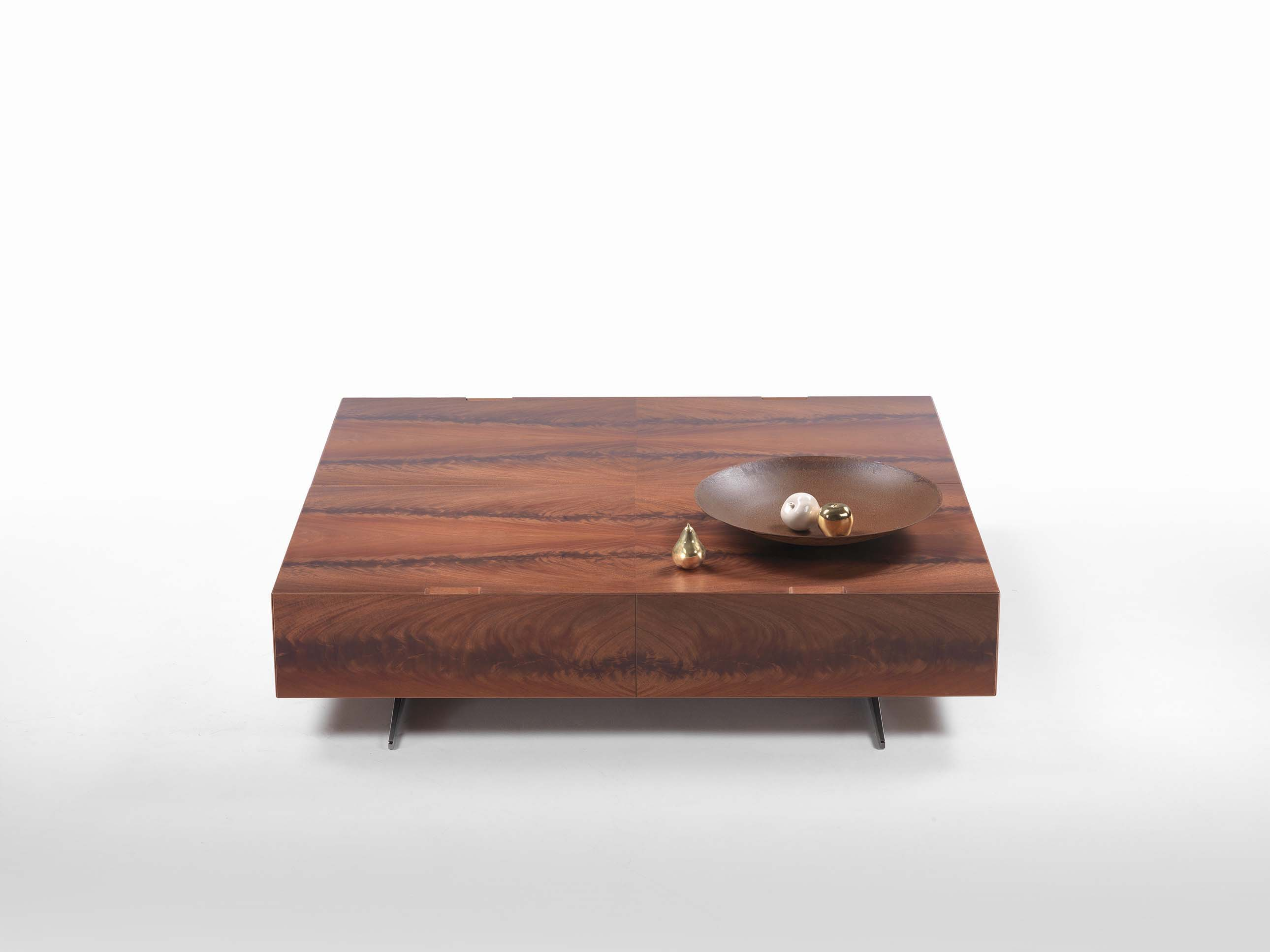 Amazing photo of Piuma coffee table Fanuli Furniture with #8B5540 color and 2580x1935 pixels