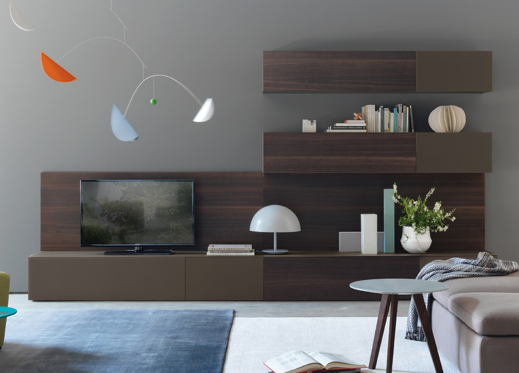 Open 03 wall unit fanuli furniture for Wall units for living room online