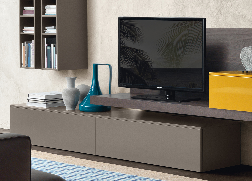 Open 07 wall unit fanuli furniture for Wall units for living room mumbai