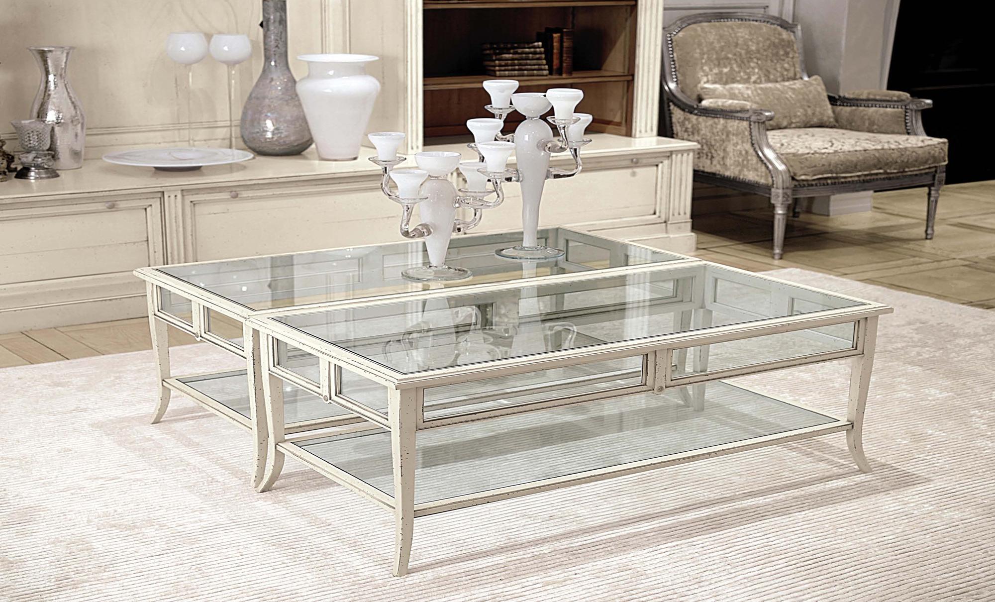 Classic White coffee table Fanuli Furniture