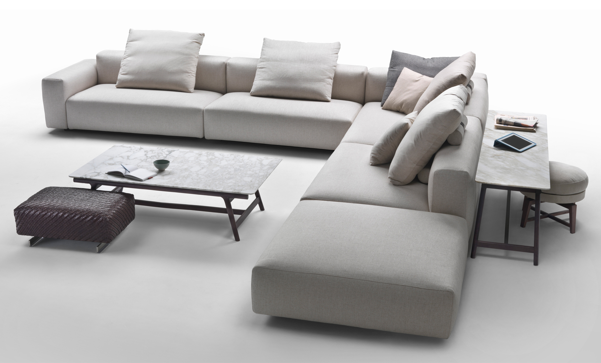 Lario modular sofa fanuli furniture for Le canape flexform