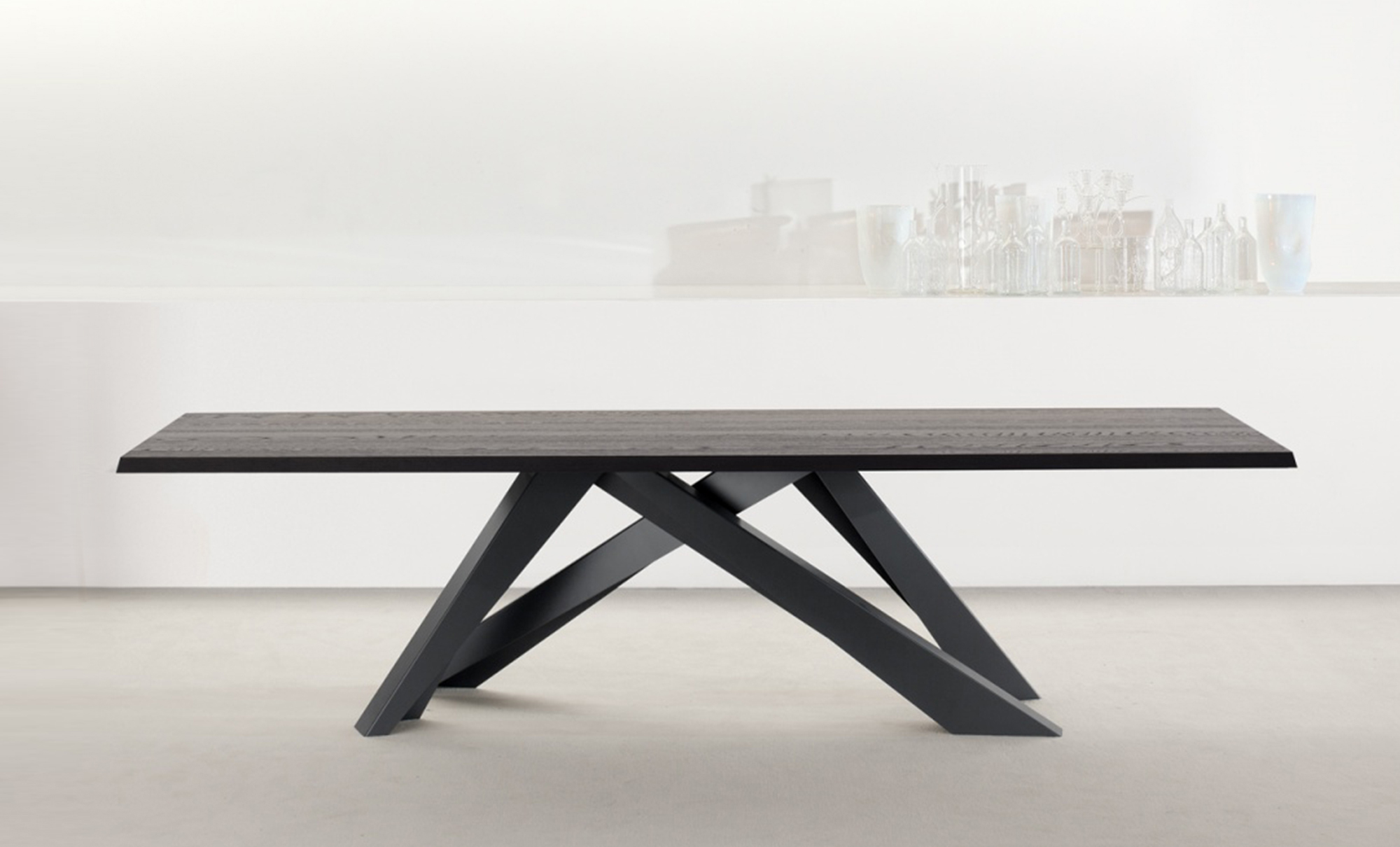Big table dining tables fanuli furniture for Big modern dining table