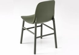 Sharky Aluminium dining chair